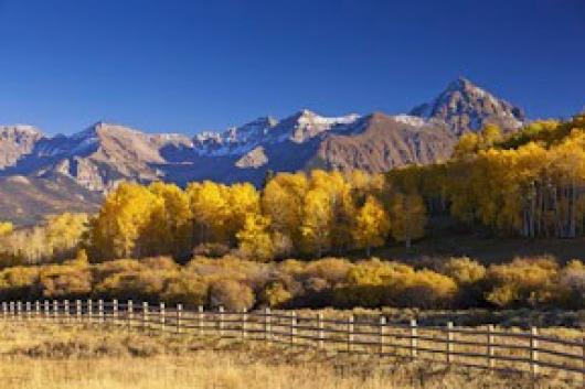 Fisher_Fred_5Colorado Fall Mountain View